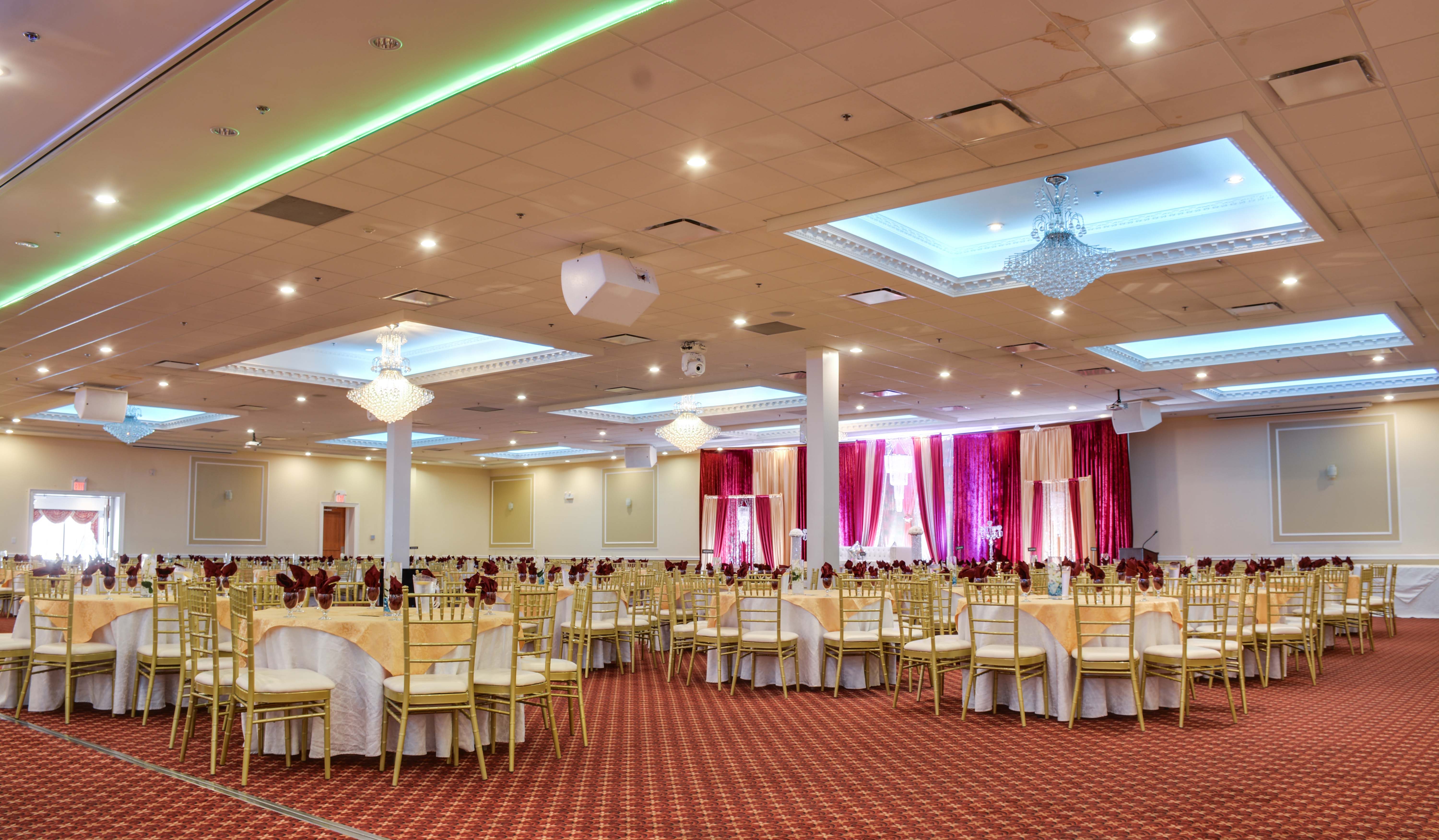 Plan Your Next Event At Bovaird Banquet Hall